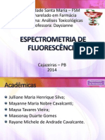 Espectrometria de Fluorescência