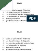 Depistage Maladie d Alzheimer