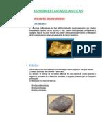 Rocas Sedimentarias Clasiticas
