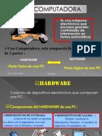 La PC y sus Partes