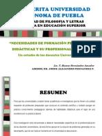 Presentacion Tesis Universidad 2012 Cuba