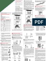 Instrucciones de Instalación Persiana Horizontal de PVC
