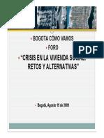 BCVcrisis de La VIS
