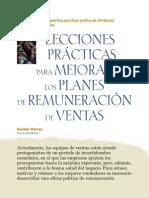Lecciones Practicas Para Mejorar Los Planes de Remuneracion de Ventas