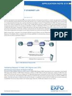 EXFO Anote219 10 Gigabit Ethernet LAN OTN En
