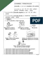 16. Pronombres Personales