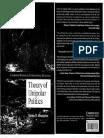 Theory of Unipolar Politics