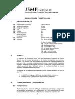 04 Silabo de Parasitologia 2014-II