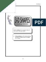 (12)3-D Shapes (pg 97-103)
