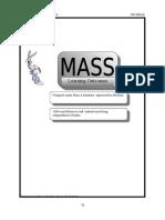 (9)Mass (pg 76-81)