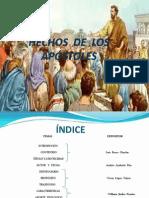 Hechos Apóstoles - 1 Exposición