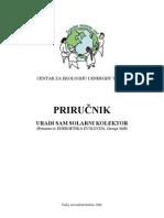 Manual - do solar collector / Prirucnik - uradi solarni kolektor