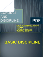 Student Conduct and Discipline