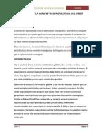 Análisis de La Constitución Política Del Perú