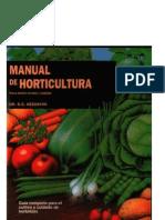 Botánica - Agricultura - Libro - Manual de horticultura - Blume