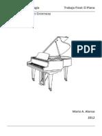Acústica y Organología - Piano - M Alonso