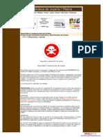 Uso y Preparación de Ácido-precauciones