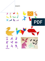 Contoh bentuk tangram