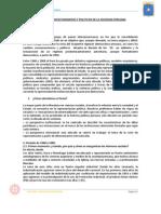 Los Cambios Socieconomicos y Politicos de La Sociedad Peruana
