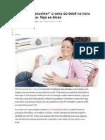 Ajuda Para Escolher Sexo Do Bebe Na Concepçao