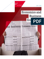 Www.rug.Nl Education Brochures-PDF Economicsandbusinesseconomics