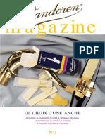 Vandoren Magazine 3 (French)