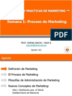 Sem. 01- El Proceso de Marketing