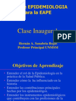 Clase Inaugural 2014