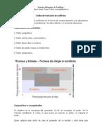 Estilos de Resolución de Conflictos, Resumen, Miguel Angel Reyes