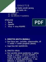 Orkitis & Epididimitis (Sist.urogenetalia)