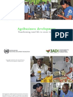 UNIDO Agribusiness Development