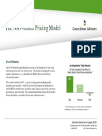 GSA-NAV Based Pricing Model 2013