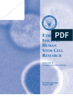 Ethical Issues in Human Stem Cell Research