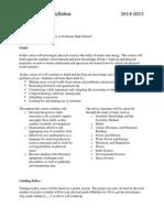 physical science syllabus v1