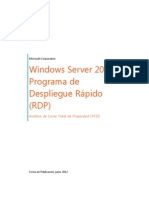 Windows Server 2012 Programa de Despliegue Rápido