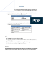 Org Structure and Master Data Assignment