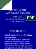 Manajemen Industri Vi