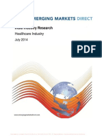 EMD - Industry Reports_ Healthcare Industry July 2014