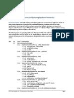 CCIE v5 Lab Blueprint
