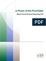 Pivottable Tutor