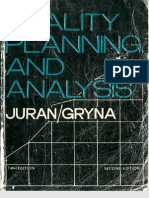 JURAN_Quality Planning and Analysis