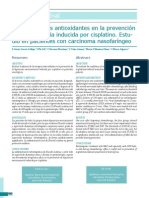 Uso de Agentes Antioxidantes en La Prevención