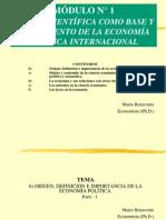 2.1 Economia- Politica