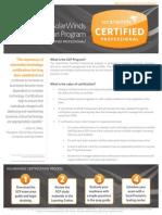 SCP Program Summary