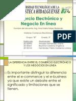 Comercio Electronico y Negocio en Línea