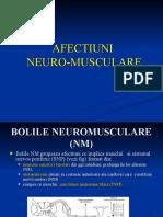 AFECTIUNI neuromusculare