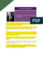 Reseña Biográfica Armand v. Ferbaum