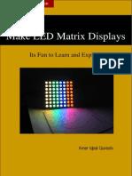 Making LED Matrix Displays