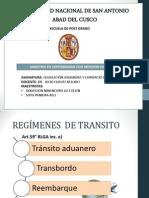 Regimen de Transito