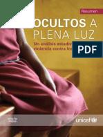 Informe Ocultos a plena luz (Unicef)
